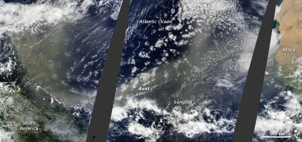 south atlantic satellite image