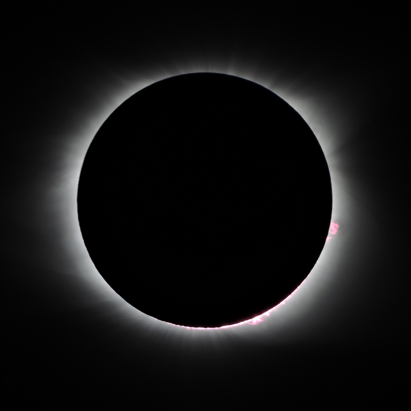 total solar eclipse image 1