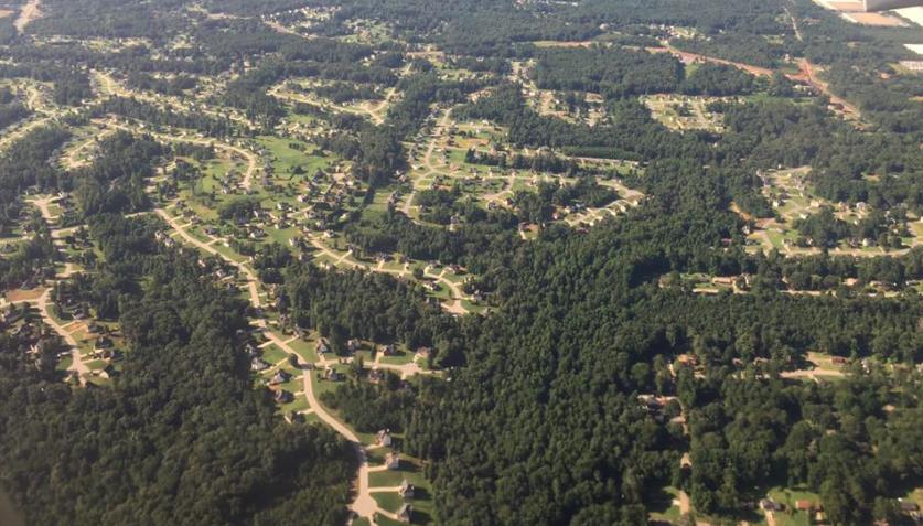 Aerial view, Georgia